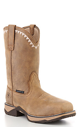 Ariat Women's Bomber Brown Square Composite Toe Work Boots