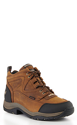 Ariat Men's Distressed Brown H20 Insulated Terrain Casual Shoes