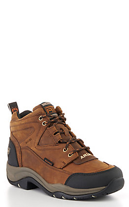 Ariat Women's Distressed Brown Terrain H20 Lace Up Hiking Boots