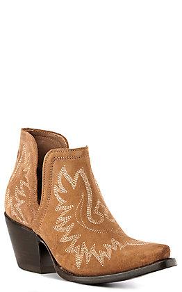Ariat Dixon Women's Dijon Suede Western Booties