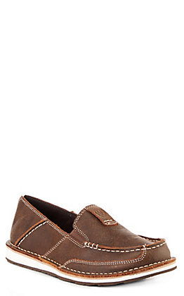 Ariat Cruiser Women's Vintage Bomber Brown Moc Toe Casual Shoes
