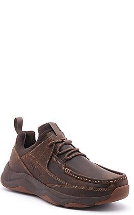 Ariat Men's Dozer Brown Bomber Moc Toe Lace Up Casual Shoe