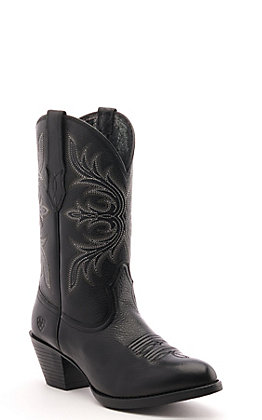 Ariat Women's Runaway Black R-Toe Western Boot
