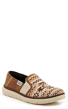 Ariat Women's Ryder Tan Diamond Aztec Print Casual Shoes
