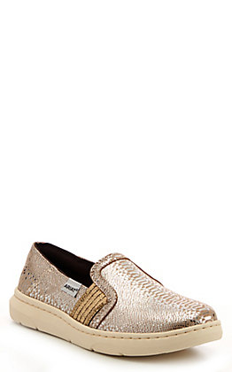 Ariat Women's Ryder Silver Snake Print Casual Shoes