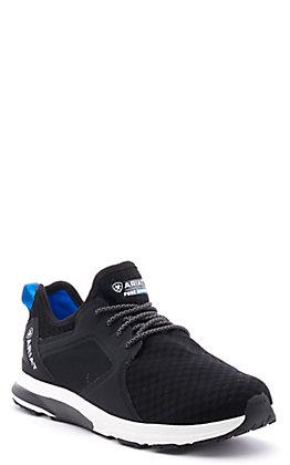 Ariat Women's Fuse Black Mesh Waterproof Casual Shoe