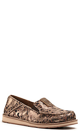 Ariat Women's Cruiser Metallic Leopard Print Casual Shoes