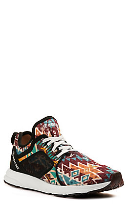 Ariat Women's Fuse Aztec Print Mesh Casual Shoe