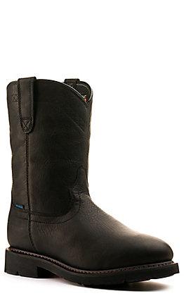Ariat Men's Sierra Black Waterproof Round Toe Work Boot