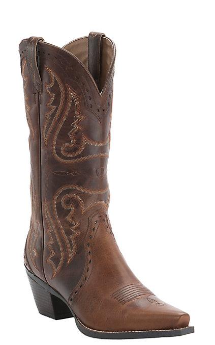 4779c45a72b Ariat Women's Vintage Caramel Heritage X-Toe Western Boot