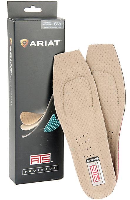 16d95b4de73 Ariat Women's ATS Wide Square Toe Footbeds