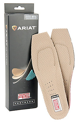 Ariat Ladies ATS Wide Square Toe Footbeds