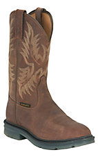 Ariat Maverick II Men's Alamo Brown Pull On Work Boots