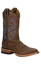 XEMAriat Cyclone Dual Pro Men's Weathered Brown Double Welt Western Boots
