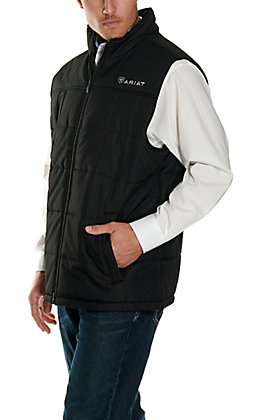 Ariat Men's Crius Black Vest
