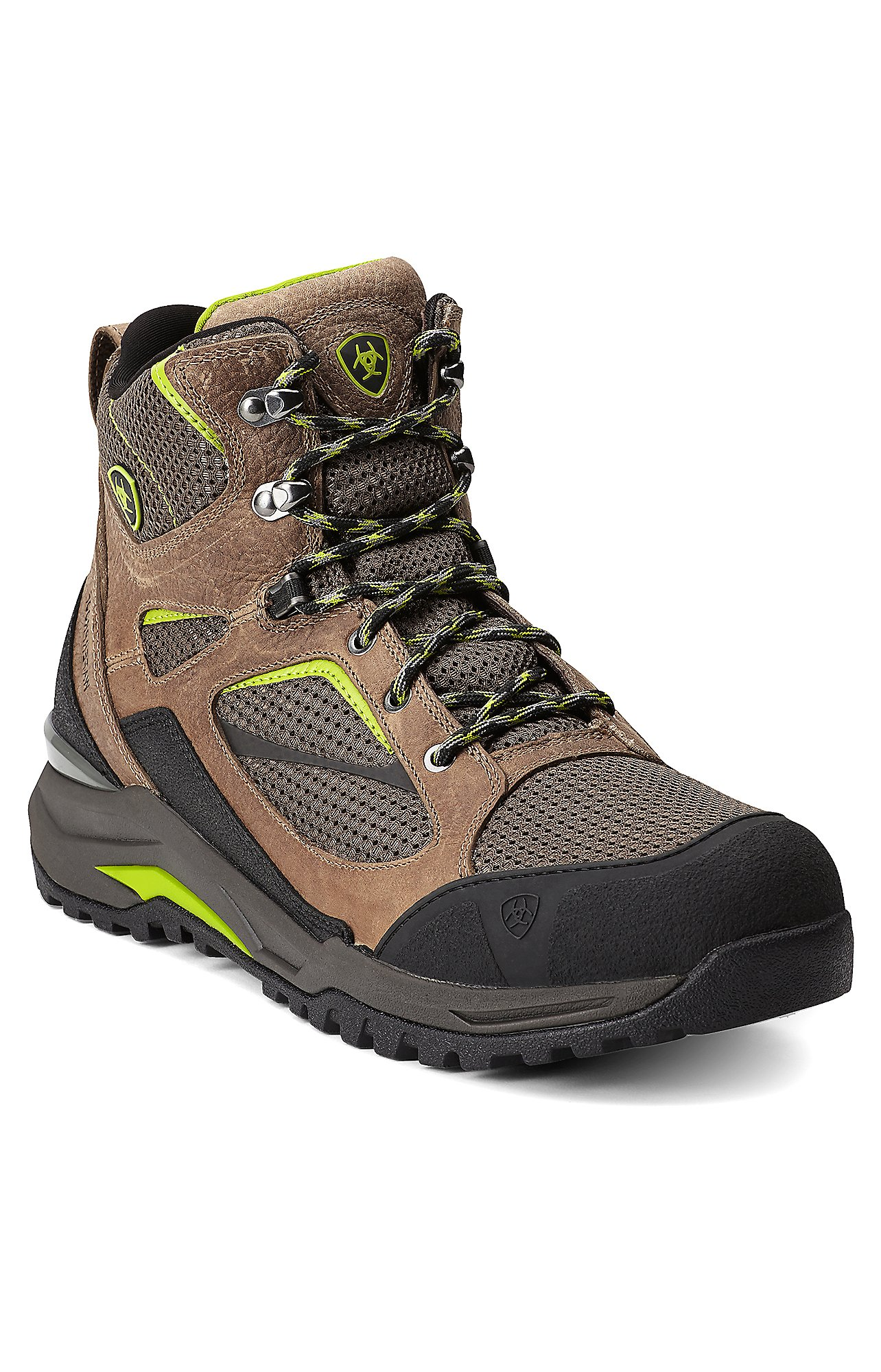 Ariat Transverse Men's Grey Mid H20 Waterproof Hiking Boots ...