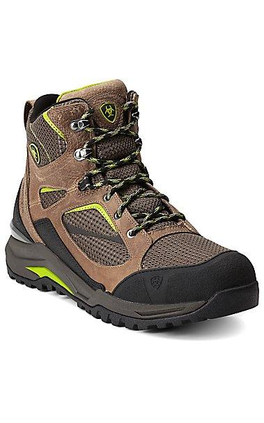 Ariat Transverse Men's Grey Mid H20 Waterproof Hiking Boots ...