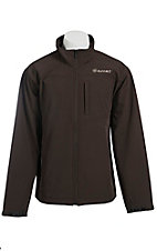 Ariat Men's Vernon Coffee Bean Bonded Softshell Jacket - Big & Tall