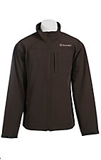 Ariat Men's Vernon Coffee Bean Bonded Softshell Jacket