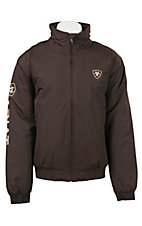 Ariat Men's Brown Team Logo Jacket