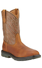 Ariat Maverick Men's Aged Back Square Composite Toe Waterproof Slip-On Workboots