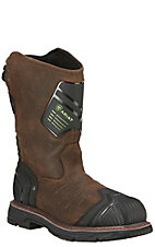 Ariat Men's Catalyst VX Bruin Brown Waterproof Composite Wide Square Toe Work Boot