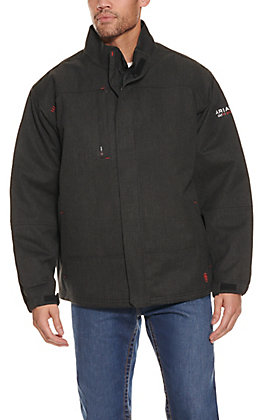 Ariat Men's Black H2O Waterproof Insulated FR Jacket