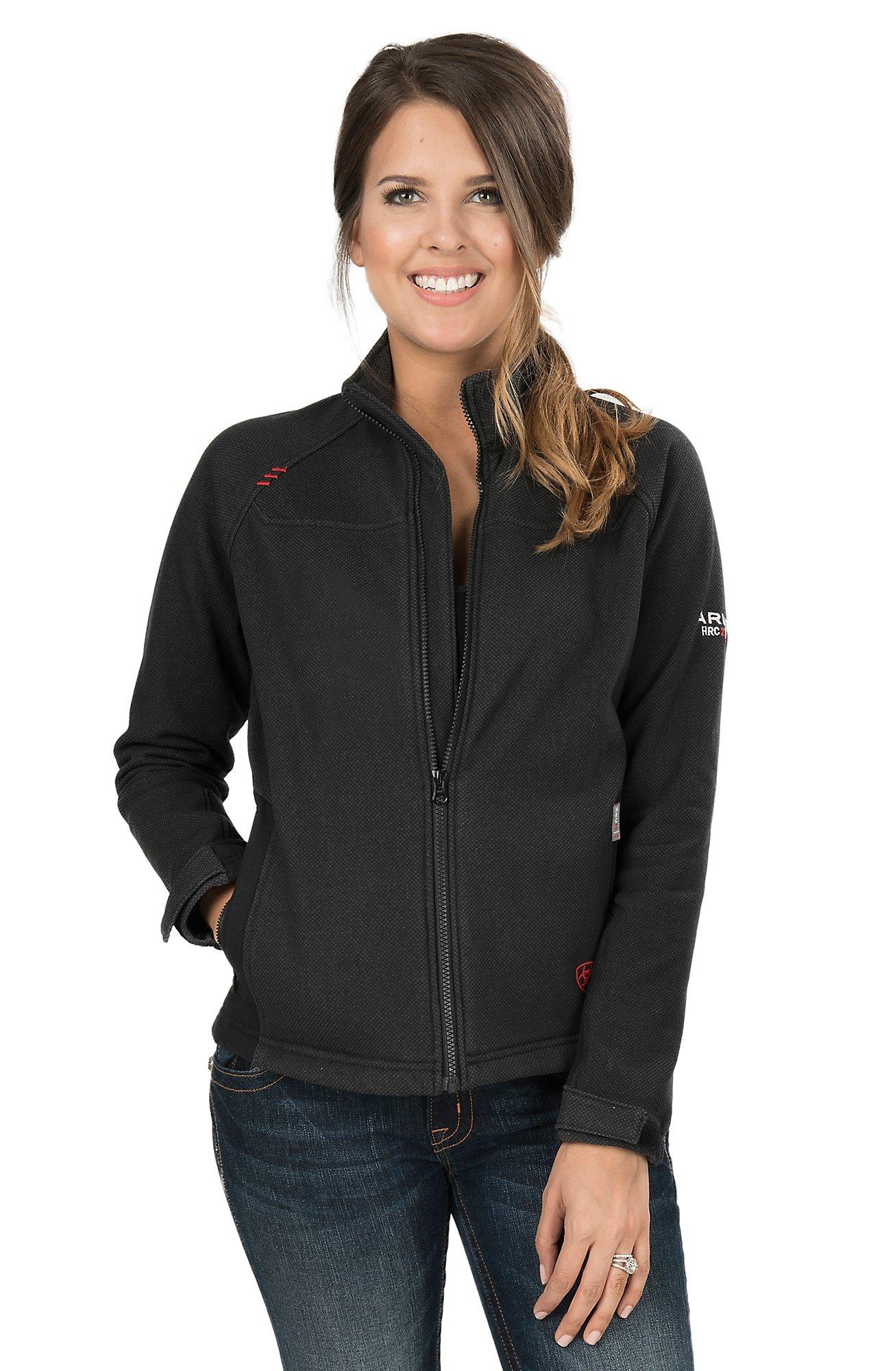 Ariat Women s Work Fire Resistant Black Work Jacket c3db57207
