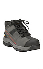 Ariat Men's Black and Grey Contender Steel Toe Work Boot