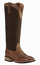 Ariat Men's Brown Snake Resistant Square Toe Work Boot