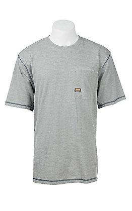 Ariat Rebar Men's Grey Work Shirt
