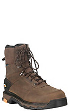 Ariat Work Men's Brown Lace Up Composite Toe Waterproof Boots