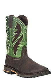 Men's Slip Resistant Work Boots