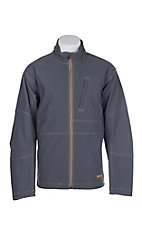 Ariat Men's Grey Rebar Canvas Softshell Jacket