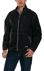 Ariat Men's Black Rebar Canvas Softshell Jacket
