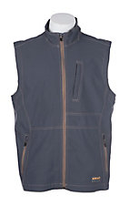 Ariat Men's Grey Rebar Canvas Softshell Vest
