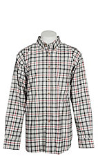 Ariat FR Men's Briggs Grey Multi Plaid Work Shirt