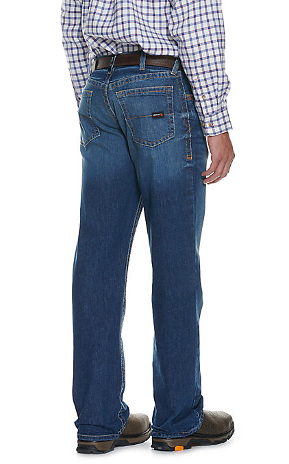 Ariat Work FR Men's M4 Alloy Low Rise Boot Cut Flame Resistant Big Jean