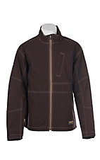 Ariat Men's Brown Rebar Canvas Softshell Jacket
