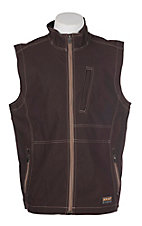 Ariat Men's Brown Rebar Canvas Softshell Vest