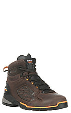 Ariat Men's Rebar Flex Chocolate Brown 6 Inch Lace Up Work Boot