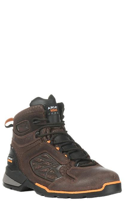 94362241c5b Ariat Rebar Flex Men's Chocolate Brown Round Composite Toe 6