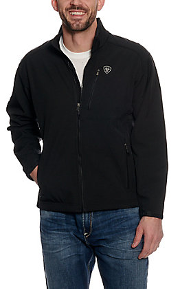 Ariat Men's Black Logo Softshell Jacket