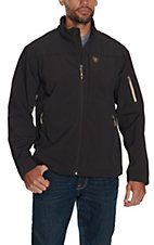 Ariat Men's Vernon 2.0 Coffee Bean Softshell Jacket - Big