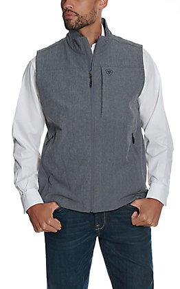Ariat Men's Charcoal Heather Vernon Bonded Soft Shell Vest