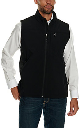 Ariat Men's Vernon 2.0 Black Softshell Vest