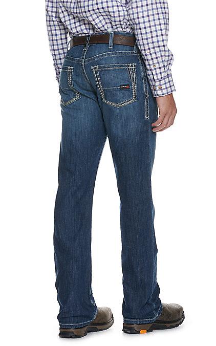 Ariat Work Flame Resistant Men's M4 Inherent Boundary Boot Cut Jean