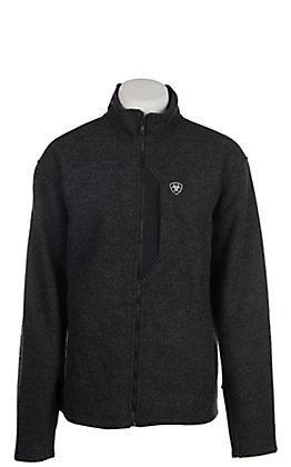Ariat Men's Black Bowdrie Bonded Full Zip Jacket