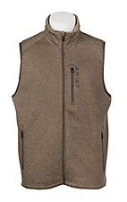Ariat Men's Caldwell Full Zip Fossil Vest