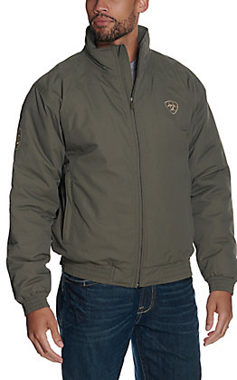 Ariat Men's Walnut Brown Team Logo Softshell Jacket
